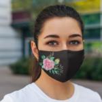 Masca Textila Model Floral