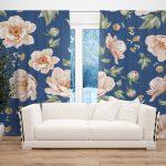 Draperie Design Floral #16