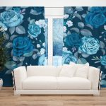 Draperie Design Floral #12
