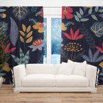 Draperie Design Floral #9