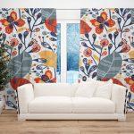 Draperie Design Floral #7