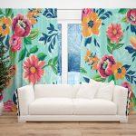 Draperie Design Floral #5