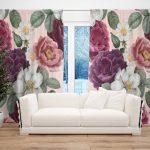 Draperie Design Floral #31