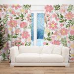 Draperie Design Floral #26