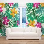 Draperie Design Floral #25