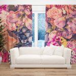 Draperie Design Floral #21