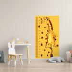 """Rigla decorativa pentru perete """"Girafă"""""""