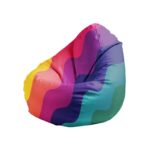 "Bean Bag ""Rainbow waves"""