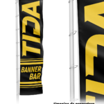 Catarg Fibra de Sticla Banner Bar