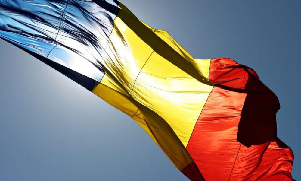 Arborarea drapelului României