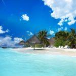"Fototapet autoadeziv ""Plajă exotică"""