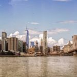 "Fototapet autoadeziv ""Brooklyn bridge park"""