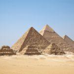 """Fototapet autoadeziv """"Piramidele Egiptene"""""""