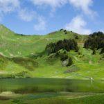 "Fototapet autoadeziv ""Lac Alpin"""
